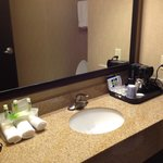 Clean, well-appointed bathroom