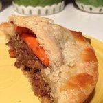 Half a small beef pie. Delicious!