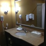 Well-appointed bathroom