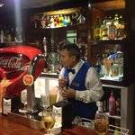 jaun Ramon the fantastic barman
