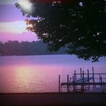 Sunset on Chautauqua Lake