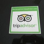 Recognized by Tripadvisor