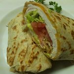 Roast Turkey Honey Wheat Wrap Special