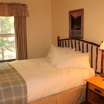 Cozy guest rooms offer a a peaceful retreat