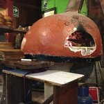 wood burning pizza oven, unless a corona box is around, in which case that goes in too