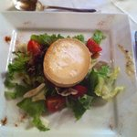 """Le Bretagne"" at Kildrummy Castle Hotel Goats cheese salad"
