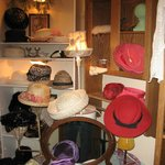 The hat room.
