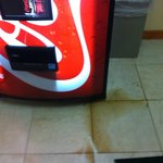 Coke machine leaking?????