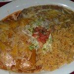 Shredded beef enchiladas! tasty tasty!!