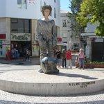 Statue of Dom Sebastiao.