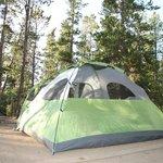 Tent pad