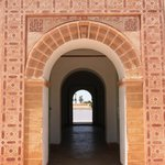 Door leading into pavilion