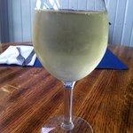 Nice cold glass of wine