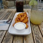 Delicious Cheese Curds and Homemade Ginger Ale