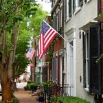 Old town Alexandria is only a couple blocks walk.