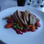 Delicious duck with a beet puree (plus morels!!!)