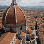 view of the Duomo from the Campanile