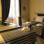 a quad room at Cimatori