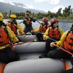 Rafting on the Petrohue