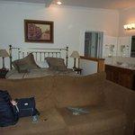 large king room, skylight & spa tub