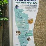 Description of historical sites along the Mississippi River