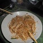 Julie Noodles - Stir fried mama noodles with vegetable and beansprouts