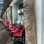 Mai Bar outdoor seating