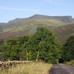 Another view of Blencathra from up the lane