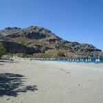 Beach at Paligremnos end
