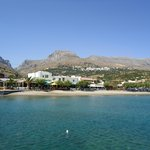 Plakias from fishing harbour