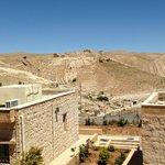 View from my room overlooking Shobak Castle