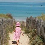 La plage de la Conche Saint Clément des Baleines