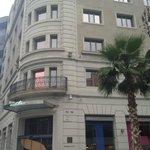 hotel desde la calle