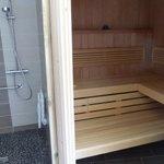 Le sauna... le plaisir de fin de journée