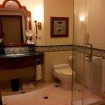 bathroom - shower cubic , toilet
