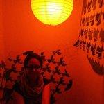 The Champi massage room