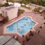 Inner court swimming pool