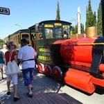 Petit train pour Cala Millor