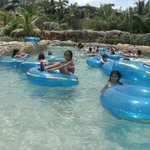 The lazy river at Atlantis