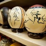 Ostrich eggs can be purchased in the gift shop