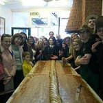 10 foot batch of fudge