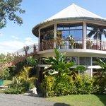 outside of Tumaini Cottage dinning place