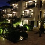 Discovery Shores by night