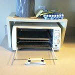 Totaster Oven- Again, part of the kitchenette