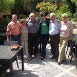 Maman,Mr.Filippo et mes amis