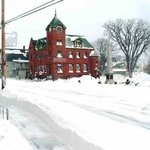 parrsboro Main & Station Winter