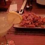Lemon margharita and crispy honey chicken
