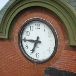 Parrsboro  Main & Station - clock face