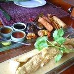 Chicken Satay Starter - delicious