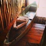 the amazing wood boat bathtub